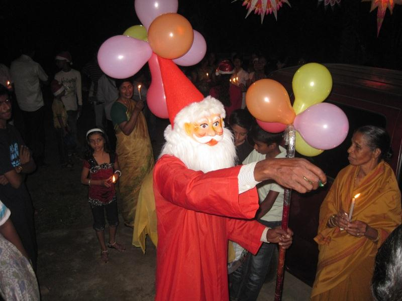 2011 Christmas in India